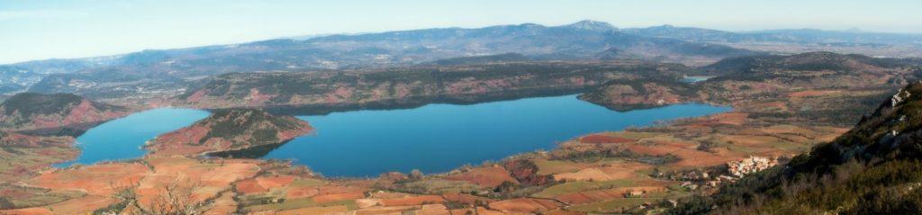 lac du Salagou.